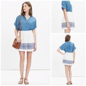 Madewell   Cabana Jacquard Skyline Skirt Size 4